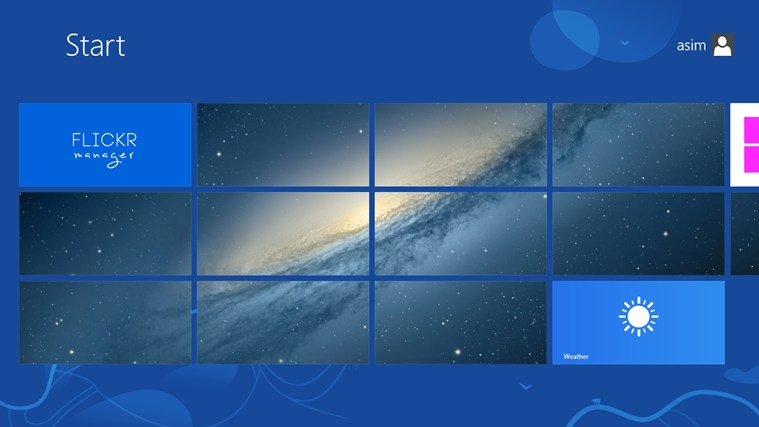 My Tiles screen shot 2