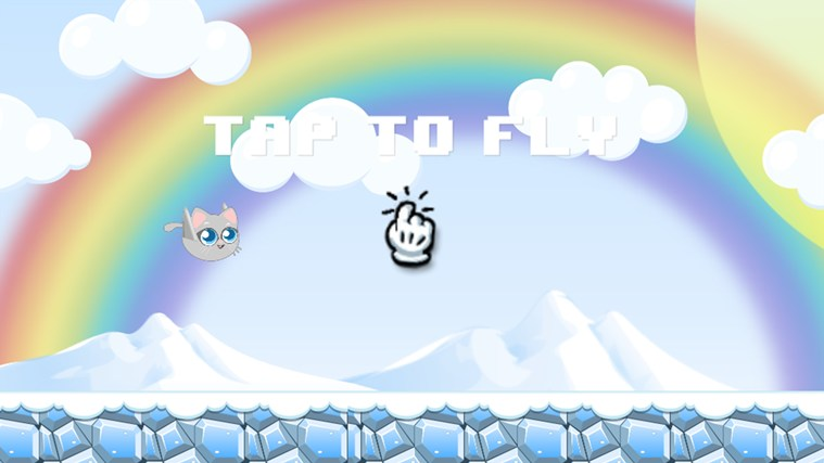 Flappy Cat skjermbilete 2
