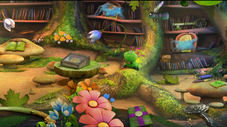 Disney Fairies Hidden Treasures screen shot 6