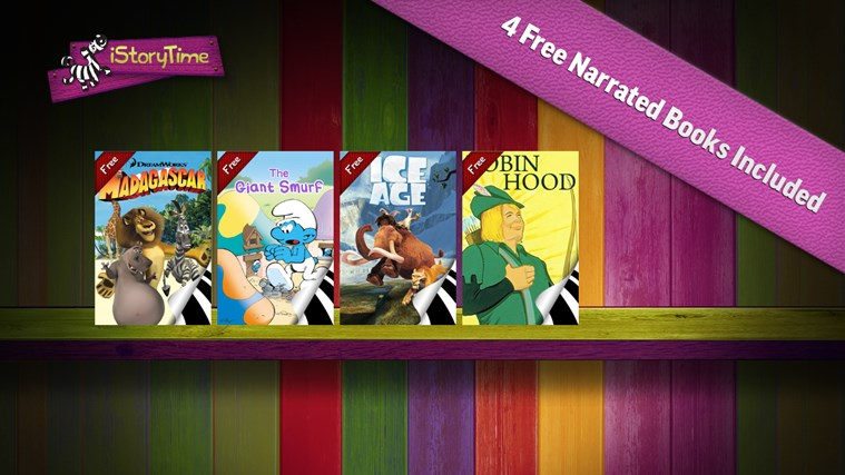 iStoryTime Library of Kids Books screen shot 0