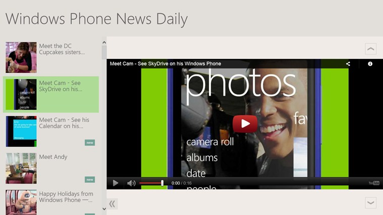 Windows Phone News Daily screen shot 0