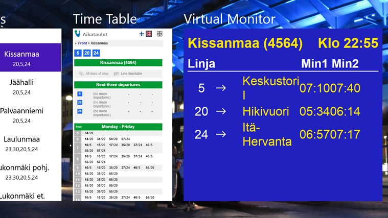 Tampere Bus Explorer screen shot 0