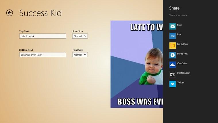 Meme-Generator screen shot 8