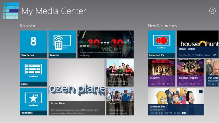 My Media Center for Win8 UI 1.3.2.3 full