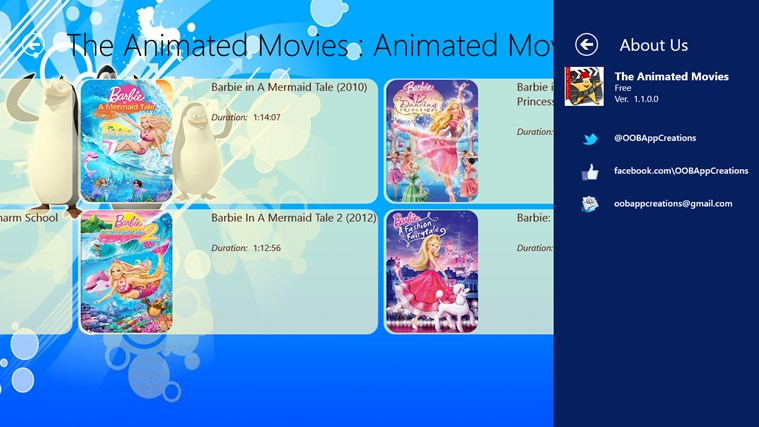 Animated Movies - Fun Unlimited screen shot 6