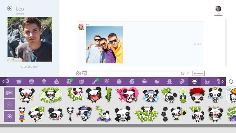 Viber - Free Phone Calls & Text capture d'écran 0