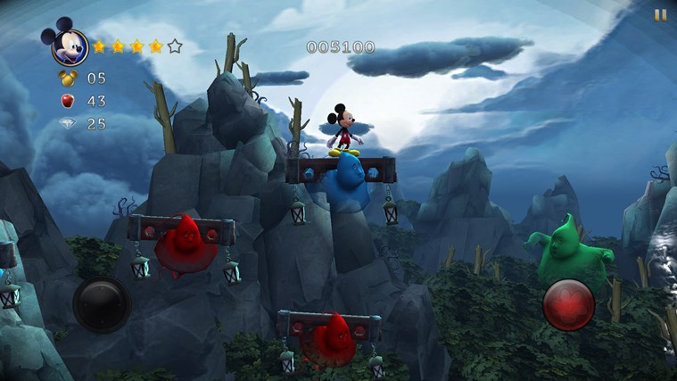 Castle of Illusion Starring Mickey Mouse screen shot 4