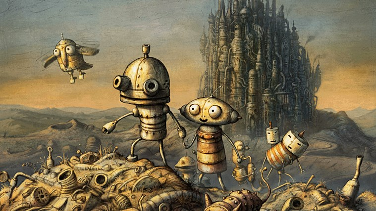 Machinarium screen shot 0