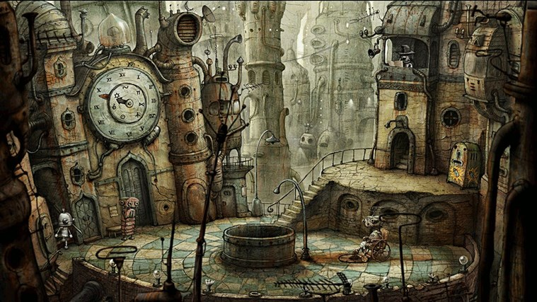 Machinarium screen shot 2