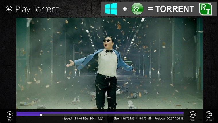 Torrent RT FREE screen shot 6