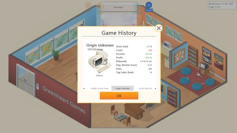Game Dev Tycoon screen shot 6