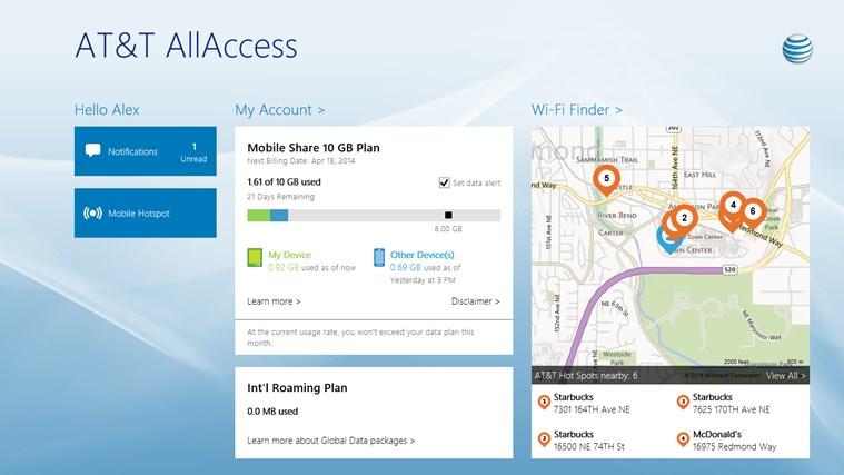 AT&T AllAccess screen shot 0