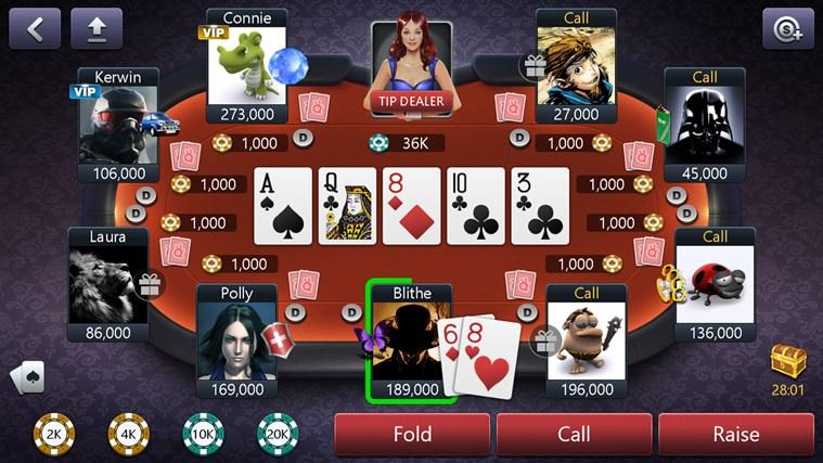 Windows holdem poker