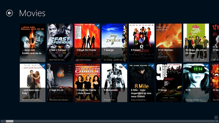 XBMC Second Screen screen shot 2