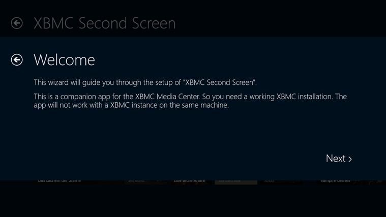 XBMC Second Screen screen shot 4