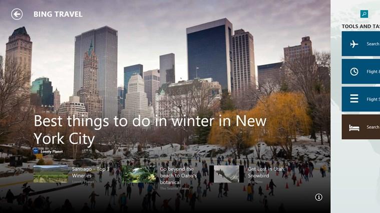 Bing Travel screen shot 0