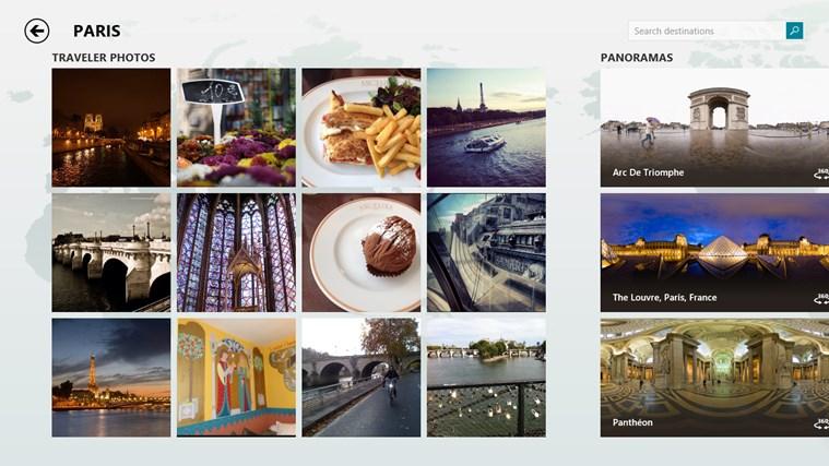 Bing Travel screen shot 2