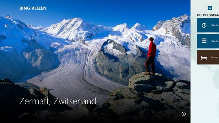 Bing Reizen schermafbeelding 0