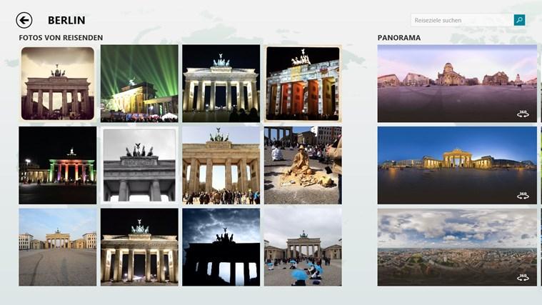 Bing Reisen Screenshot 2