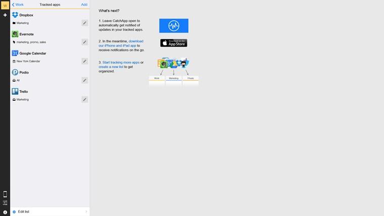 CatchApp: Team Tracking screen shot 2