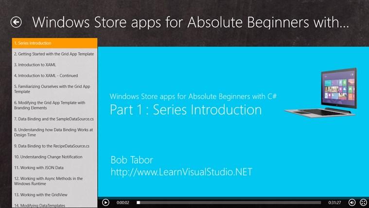 Programming Tutorials screen shot 2