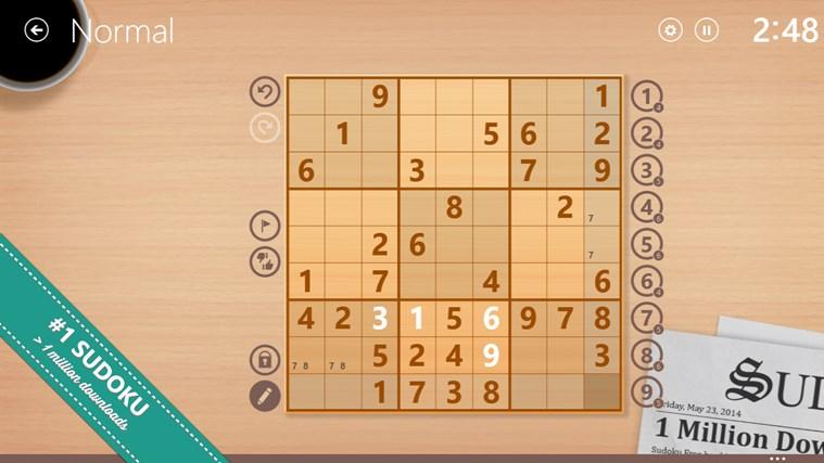 Sudoku Free captura de tela 0