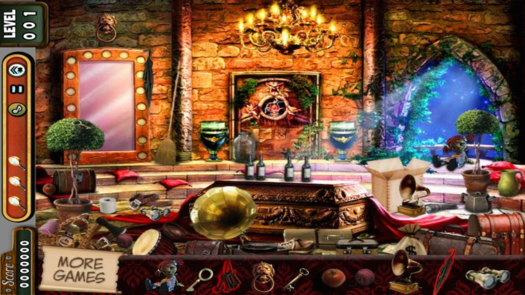 Hidden Objects - Vampire Rooms - Lost Kingdom - Village screen shot 0