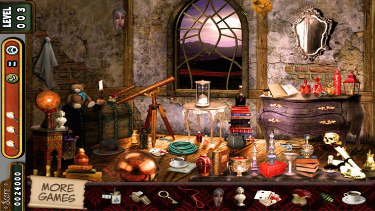Hidden Objects - Vampire Rooms - Lost Kingdom - Village screen shot 2