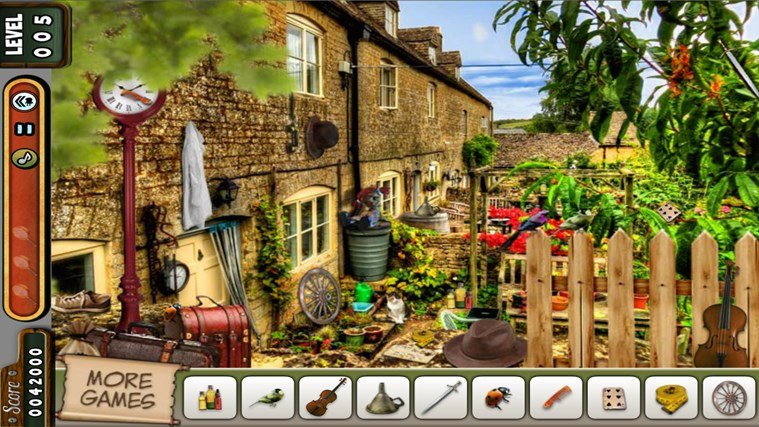 Hidden Objects - Vampire Rooms - Lost Kingdom - Village screen shot 4
