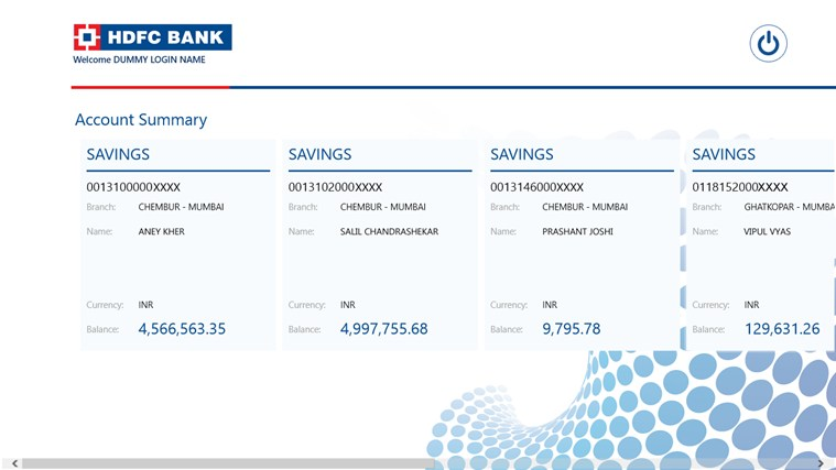 HDFC Bank screen shot 0