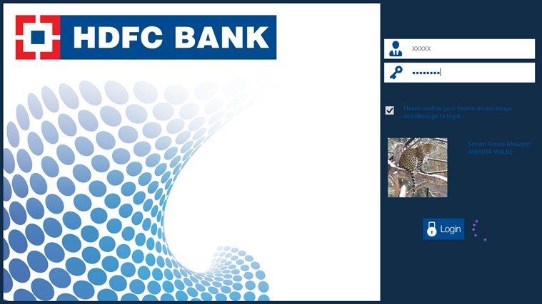 HDFC Bank screen shot 4