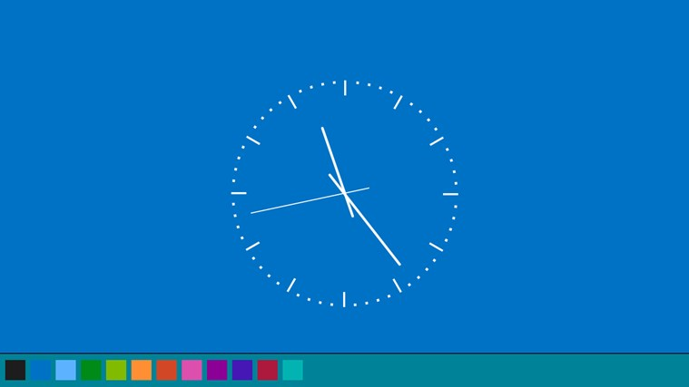 Zapi Clock screen shot 2