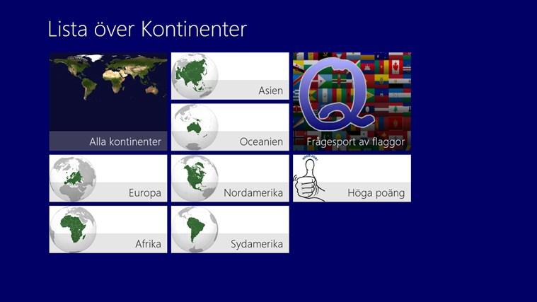 Värld Nationsflaggor-skärmbild 0