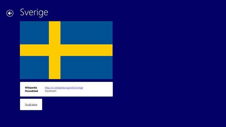 Värld Nationsflaggor-skärmbild 2