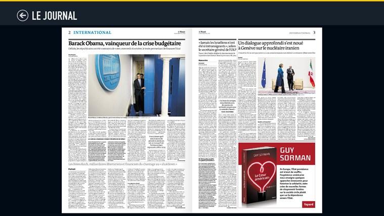 Le Monde.fr capture d'écran 6