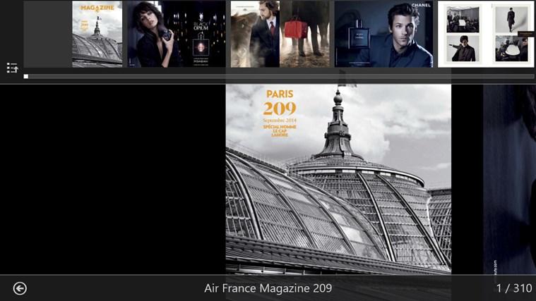 Air France Press capture d'écran 2