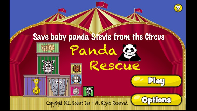 Panda Rescue screen shot 4