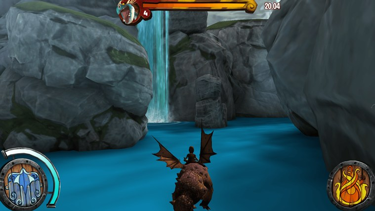 DreamWorks Dragons Adventure screen shot 2