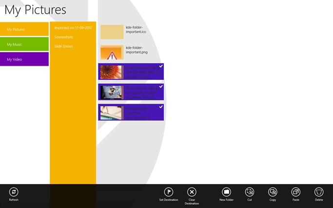 Swift Files screen shot 2