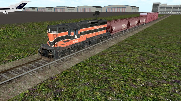 Train Sim screen shot 2