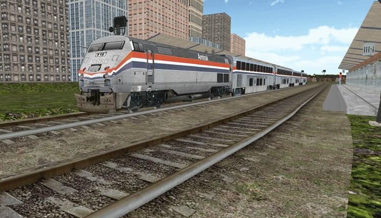 Train Sim screen shot 4