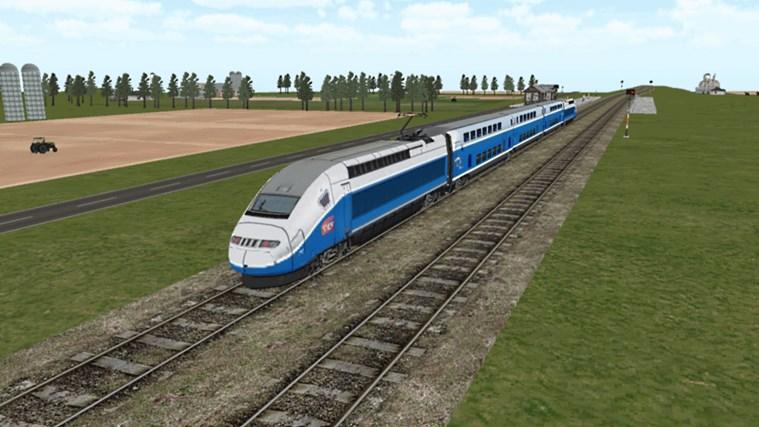 Train Sim screen shot 8