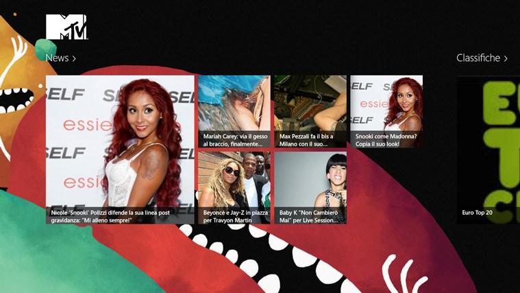 MTV Italia cattura di schermata 0
