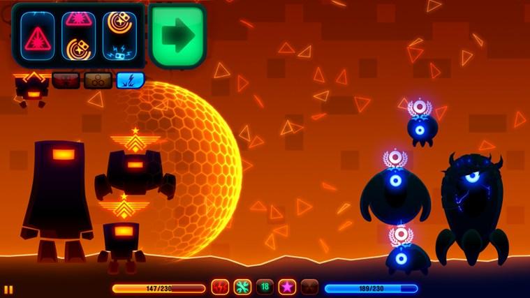 Robotek for Win8 UI full screenshot