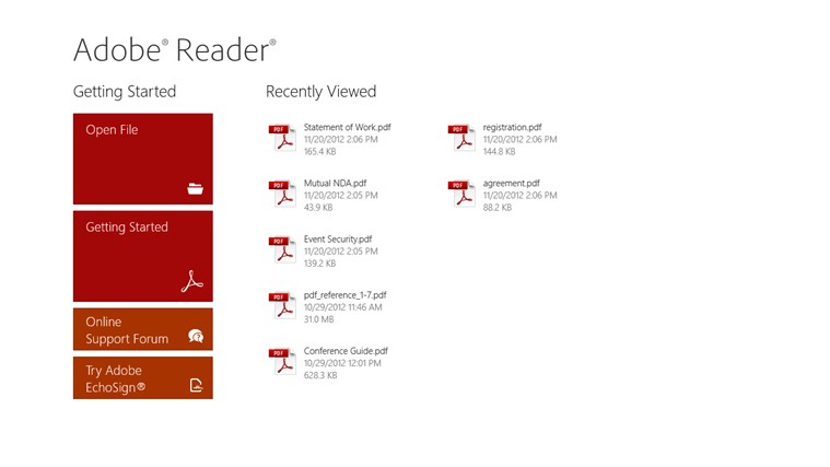 adobe reader app download