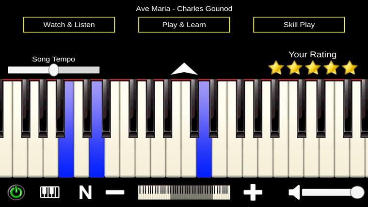 Mini Piano ® petikan skrin 2