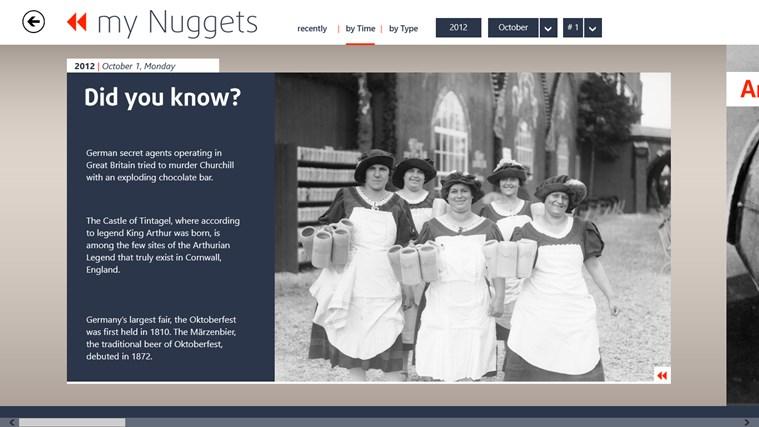 my History Digest screen shot 2