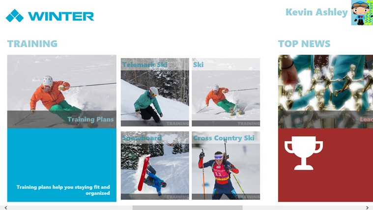Winter Sports screen shot 4
