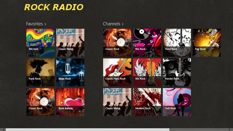 RockRadio screen shot 0