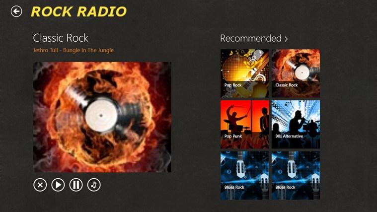 RockRadio screen shot 4